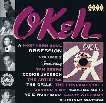 V.A. - Okeh : A Northern Soul Obsession Vol 2 ( cd )
