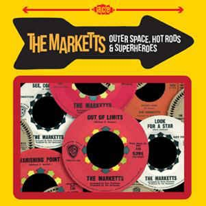 Marketts ,The - Outer Space ,Hot Rods & Superheroes