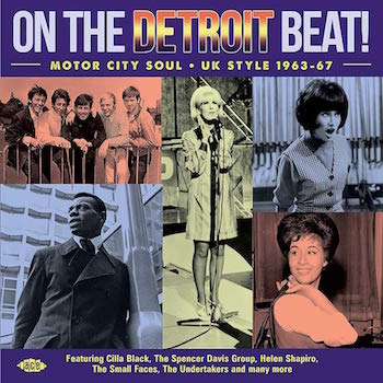 V.A. - On The Detroit Beat :Motor City Soul Uk Style1963-67