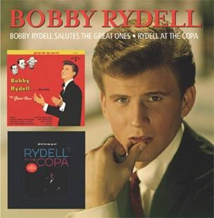 Rydell ,Bobby - 2on1 Bobby Rydell Salutes The Great Ones / At Th