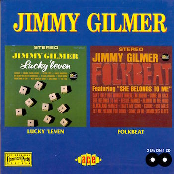 Gilmer ,Jimmy - 2on 1 Luck' Leven / Folkbeat