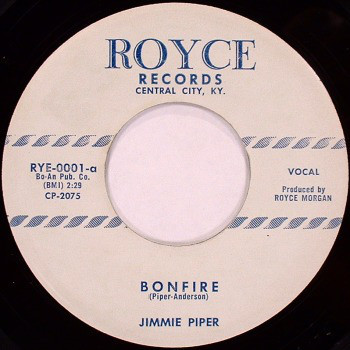 Piper ,Jimmy - Bonfire + 1 ( repro )