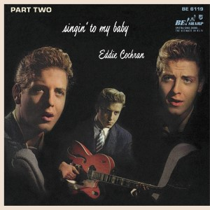 Cochran ,Eddie - Singin' To My Baby : Part 2 ( ltd Clear Vinyl )