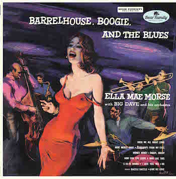 "Morse ,Ella Mae - Barrelhouse Boogie And The Blues ( ltd 10"" )"