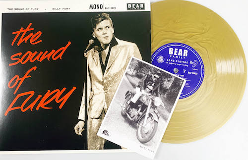 "Fury ,Billy - The Sound Of Fury ( Ltd 10"" Color )"