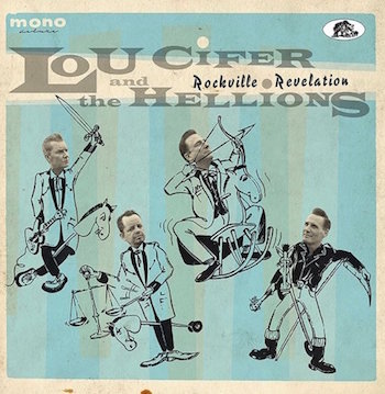 Lou Cifer & The Hellions - Rockville Revelation ( cd )
