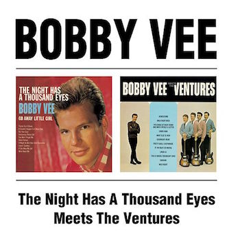 Vee ,Bobby - 2on1 The Night Has A Thou.../ Meets The Ventures