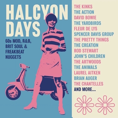 V.A. - Halcyon Days : 60's Mod ,R&b ...( 3 cd's )