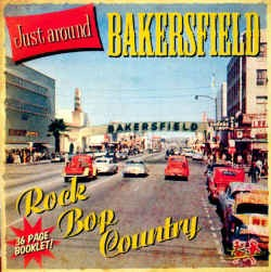 "V.A. - Just Around Bakersfield ""Crosover Teen Sound """