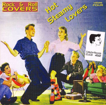V.A. - Hot Steamy Lovers : Rock'n'Roll Covers Vol 4