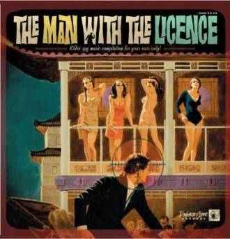 "V.A. - The Man With The Licence ( 10"" lp )"