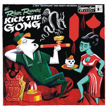 Rhum Runners ,The - Kick The Gong ( ltd lp)