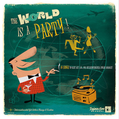 V.A. - The World Is A Party ( Ltd Lp )