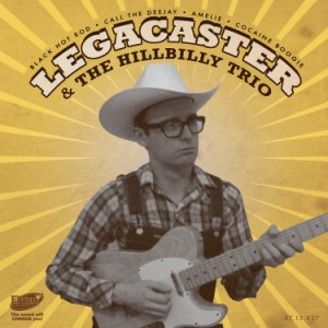 Legacaster And The Hillbilly Trio - Black Hot Rod