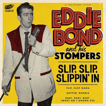 Bond ,Eddie And His Stompers - Slip ,Slip ,Slippin' In (Ltd Ep )