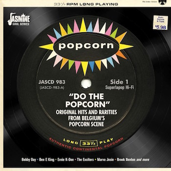 V.A. - Do The Popcorn : Original Hits And Rarities From Belg...