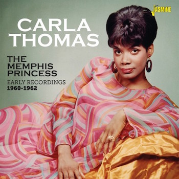 Thomas ,Carla - The Memphis Princess : Early Re 1960-62 (cd )