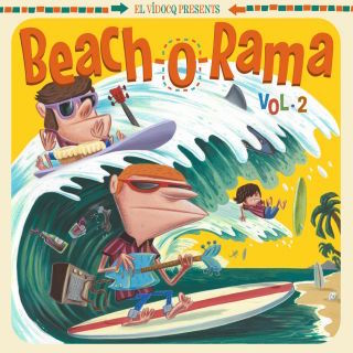 V.A. - Beach-O-Rama Vol 2 (ltd lp + bonus cd)