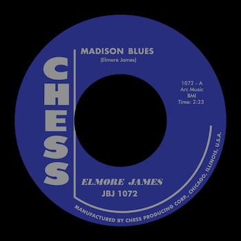 James ,Elmore - Madison blues + 1 ( ltd repro )