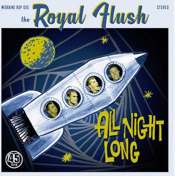 Royal Flush ,The - All Night Long + 1 ( Ltd 45's Rec)