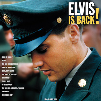 Presley ,Elvis - Elvis Is back ! ( Lp Ltd Color )