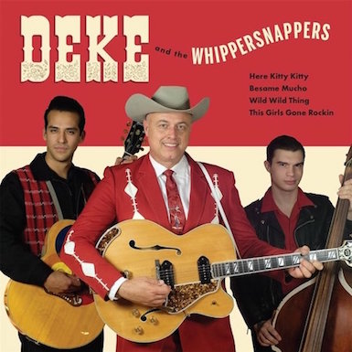 Dickerson ,Deke - The Whippersnappers - Hey Kitty Baby + 3