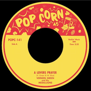 Green ,Vernon And The Medallions - A Lovers Prayer + 1