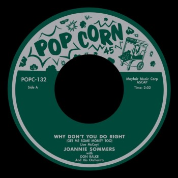 Sommers ,Joannie / Cleo Jons - Why Don't You Do Right ( ltd)