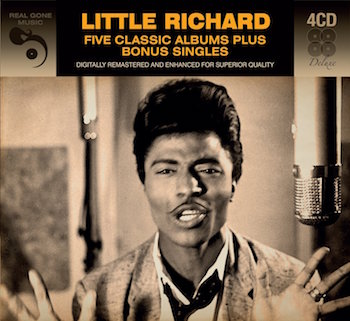 Little Richard - 5 Classic Albums ( 4 cd box )