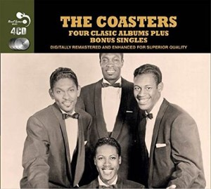 Coasters ,The - Four Classic Albums Plus bonus Singles