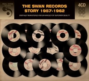 V.A. - Swan Records Story 1957-1962 ( 4 cd's )