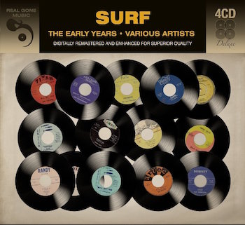 V.A. - Surf : The Early Years ( 4 cd's )