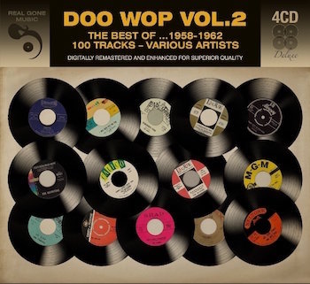 V.A. - Doowop Vol 2 : The Best 1958 - 1962 ( 4 cd's )