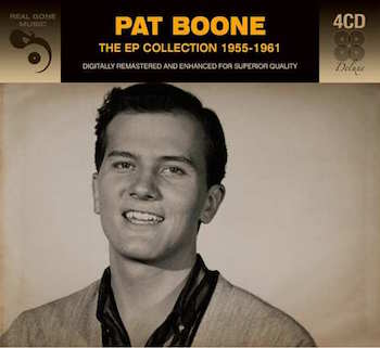 Boone ,Pat - Ep Collection 1955-1961 ( 4 cd's )