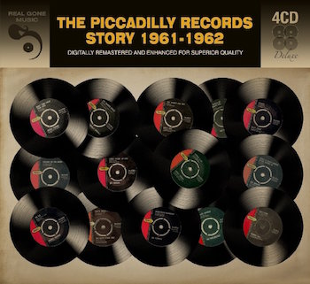 V.A. - Piccadilly Records Story 1961-1962 ( 4 cd's )