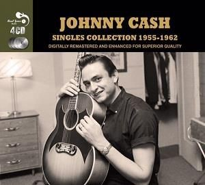 Cash ,Johnny - The Singles Collection 1955 -1962 ( 4 cd's )