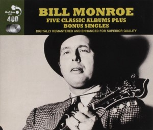 Monroe ,Bill - Five Classic Albums Plus Bonus Singles