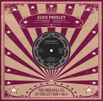 "Presley ,Elvis - The Original U.S. Ep Collection 4 (10"" Color)"
