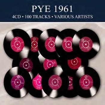 V.A. - Pye 1961 : 100 Tracks ( 4 cd's digipack )