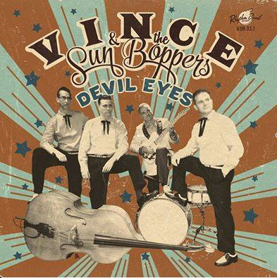Vince And The Sunboppers - Devils Eyes + 1 ( 33 rpm rec )