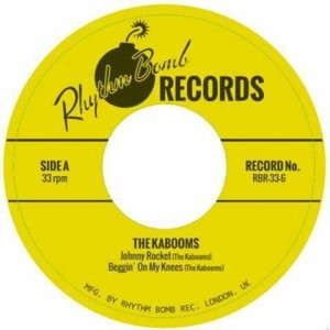 Kaboons ,The - Johnny Rocket + 3 ( limited 33's Ep )