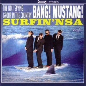 Bang Mustang -Surfin Nsa ( Limited Vinyl )