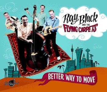 Black ,Ray And The Flying Carpets - Better Way To Move