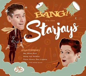 Starjays ,The - Bang! Its The Starjays (ltd lp )