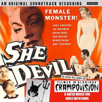 V.A. - She Devil : Original Soundtrack (cd)