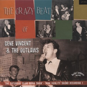 "Vincent ,Gene And The Outlaws - The Crazy Beat Of .. (ltd 10"" )"