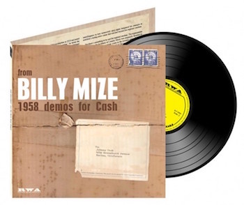 "Mize ,Billy - 1958 Demos For Johnny Cash ( Ltd 10 "" )"