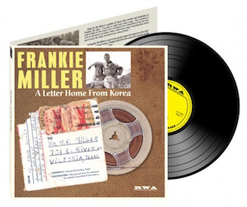 "Miller ,Frankie - A Letter From Korea ( ltd 10"" )"