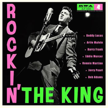 "V.A. - Rockin' The King ( Ltd 10 "" )"