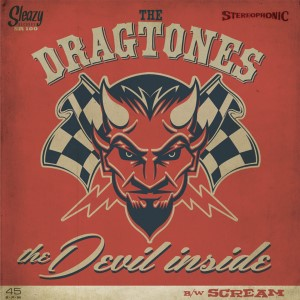 Dragtones ,The - The Devil Inside ( Limited 45's )